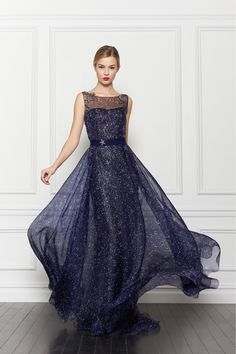 starry starry night courtesy of carolina herrera.