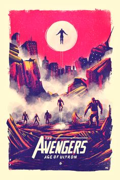 Avengers: Age of Ultron by Marie Bergeron