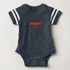 Feisty Retro Label Baby Bodysuit