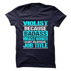 VIOLIST T-Shirts, Hoodies. VIEW DETAIL ==► https://www.sunfrog.com/No-Category/VIOLIST-90991790-Guys.html?id=41382