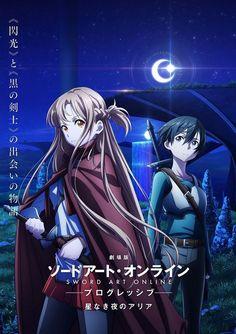 News Anime, Tv Anime, Film Anime, Sword Art Online Poster, Sword Art Online Wallpaper, Sword Art Online Movie, Black Butler, Sword Art Online Kirito, Gun Gale Online