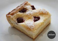 Bistro u starej mamy - recepty, rady a chute života: Tvarohový mrežovník - trocha iný Cheesecake Pie, Desserts, Cheesecake, Food, Basket, Torte, Tailgate Desserts, Cake, Deserts