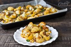 Roasted Cauliflower :: Home Cooking Adventure