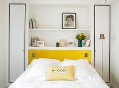 23 Ideas For Small Loft Bedroom Storage Built Ins Small Loft Bedroom, Spare Bedroom Closets, Bedroom Storage For Small Rooms, Trendy Bedroom, Kids Bedroom, Master Bedroom, Bedroom Wallpaper Accent Wall, Wall Wallpaper, Accent Walls
