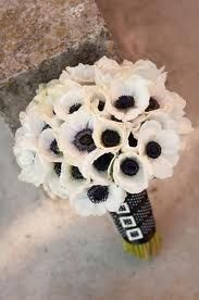 black silver white wedding bouquet ideas - Google Search