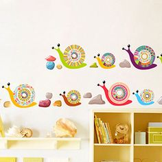 snail wall decals - Google Search