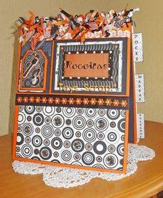 Recipes Notebook #recipes #notebook #scrapbooking #crafts #kitchen #decoration #taysrocha