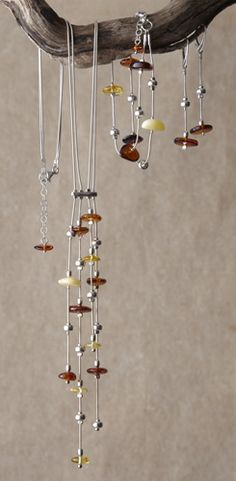 Amber Tassel Jewelry, Bracelets, Jewelry - The Museum Shop of The Art Institute of Chicago