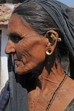 rabari woman .