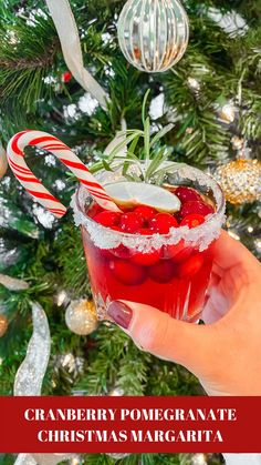 Non Alcoholic Christmas Drinks, Christmas Party Drinks, Christmas Tea, Holiday Cocktails, Christmas 2019, Alcoholic Drinks, Cranberry Margarita, Cranberry Vodka, Cranberry Cocktail