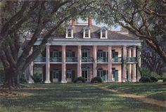 Oak Alley Plantation by James Kendrick 111