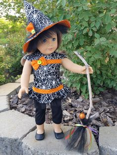 Bibbidy Bobbidy Two 18 inch doll and American Girl doll Halloween outfit by…