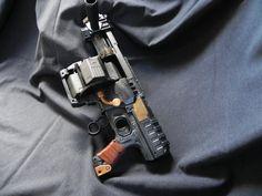 Dominator zombie  version Doom Hand Guns, Nerf, Pistols, Revolver