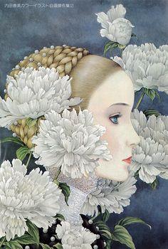 内田善美カラーイラスト自選傑作集「白雪姫幻想」
