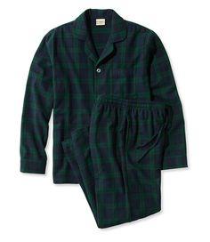 L.L.Bean Scotch Plaid Flannel Pajamas