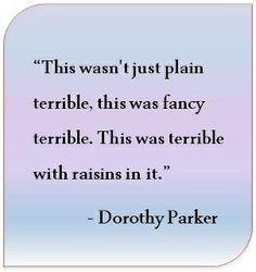 Brilliance from Dottie.