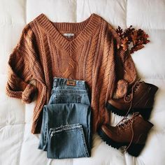 Cute Fall Outfits, Fall Winter Outfits, Autumn Winter Fashion, Trendy Outfits, Teen Fashion Outfits, Look Fashion, Korean Fashion, 2000s Fashion, Fashion Tips
