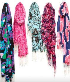 Spring/summer scarves!