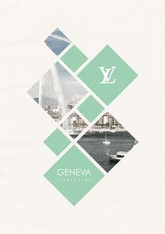 Portfolio Idea. City Guide by Suellen Lopes Oliveira, via Behance