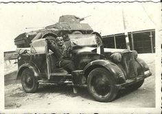Italian Armoured Cavalry Squadron with Fiat 508 CM 1100 - 1939