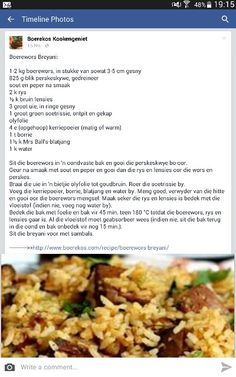 Braai Recipes, Mince Recipes, Cooking Recipes, Cooking Measurements, Banting Recipes, Curry Dishes, South African Recipes, English Food, Sausages