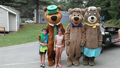 Family Camping, or staying in a hotel, if you prefer! with #yogibear and the crew at Jellystone Park, Warrens, Wisconsin!