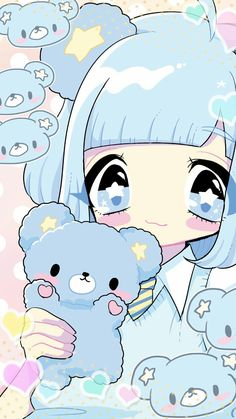 Image shared by 𝐆𝐄𝐘𝐀 𝐒𝐇𝐕𝐄𝐂𝐎𝐕𝐀 👣. Find images and videos about cute, beautiful and beauty on We Heart It - the app to get lost in what you love. Chibi Kawaii, Cute Anime Chibi, Cute Anime Pics, Kawaii Art, Wallpapers Kawaii, Kawaii Wallpaper, Cute Cartoon Wallpapers, Cute Kawaii Animals, Anime Girl Neko