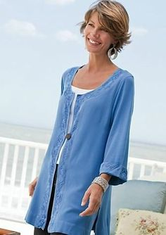 Print :: New Fall Tunics - Perfect for Women Over 50