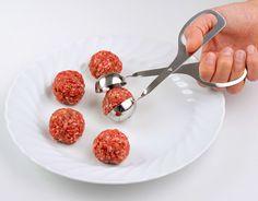 Pinza Polpette #igenietti Per creare polpette perfettamente sferiche senza sporcarsi le mani!