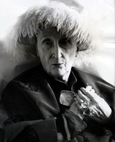 Portrait of Edith Sitwell,1962, taken for her 75th birthday.... By Cecil Beaton.