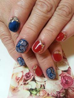赤☆青の画像   ネイルサロン タイムズスクエアのブログ