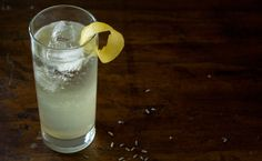 Meet my new signature drink:  The Lavendar French 75...   How did we not meet before?