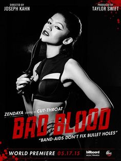 "Photo: Zendaya Appearing In Taylor Swift's Video For ""Bad Blood"" - Dis411"