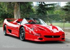 Classic, Hot, Bad-Ass Ferrari F50