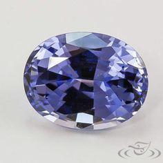 2.58 Carat Indigo Oval Lab Sapphire. Green Lake Jewelry CHA95126A