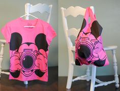 DIY T-Shirt Totes... so easy!