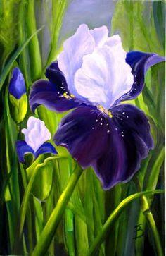 Картина (рисунок): Цветы Ирис