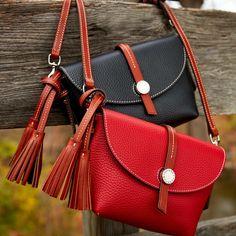 Dooney Bourke Verona Bionda Cristina Leather Saddle Bag Liked