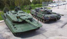 Leopard 2 A7 tanks                                                                                                                                                                                 Mehr