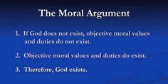 Arguments for Existence of God | ... William Lane Craig Explains The Moral Argument for God's Existence