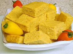 Red Peppered Corn Bread