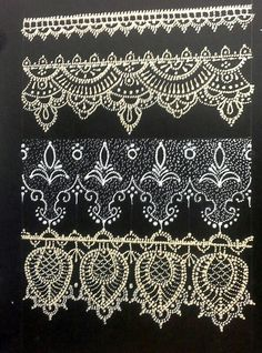 Lace Painting, Dot Painting, Jar Crafts, Bottle Crafts, Lace Patterns, Embroidery Patterns, Lace Art, Linens And Lace, Antique Lace