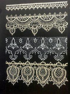 Lace Painting, Dot Painting, Jar Crafts, Bottle Crafts, Lace Design, Pattern Design, Stencils, Lace Art, Linens And Lace