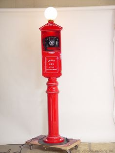 Fire Department Call Box