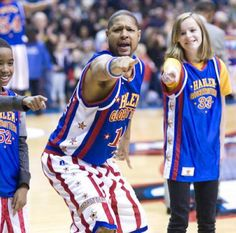 The Globetrotters #14, Handles, has a jersey for YOU!  His jersey!  Get Handles' jersey here.