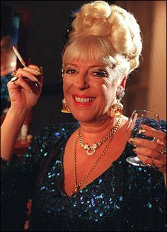 Julie Goodyear was a terrific role model for me when I was a teenager. I would dress and smoke as Bet while watching Corrie with Mom xx British Drama Series, Smoking Ladies, Coronation Street, Role Models, Vintage Posters, Nostalgia, Sexy Women, Mom, My Love