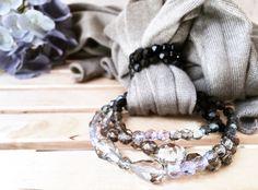 Foulard gioiello  Sciarpa gioiello  Accessori Donna Women scarves Cashmere Scarf