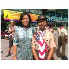 Sama Mama,Pelantikan Pramuka Garuda 2013,23 Agustus 2013