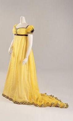Evening dress, 1800-05 England