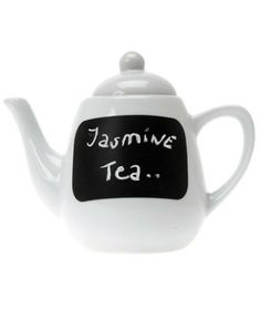 Tea of the Day Blackboard Teapot - Brillant idea